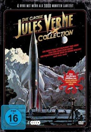Die grosse Jules Verne Collection (Metal Box, 4 DVDs)