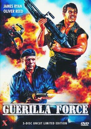 Guerilla Force (1988) (Unzensiert, Limited Edition, Mediabook, Uncut, DVD + 2 4K Ultra HDs)