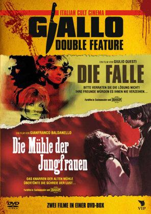 Giallo Double Feature - Die Falle / Die Mühle der Jungfrauen (Italian Cult Cinema, Uncut)