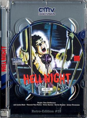 Hell Night (1981) (Retro Edition, Jewel Case, Limited Edition, Uncut)