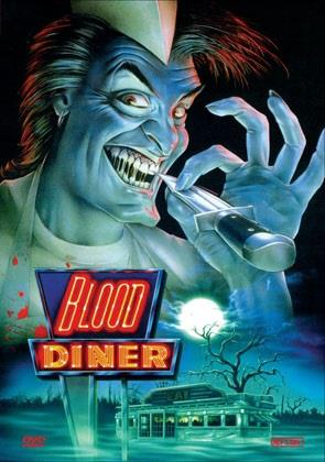 Blood Diner (1987) (Kleine Hartbox, Cover A, Limited Edition, Uncut)