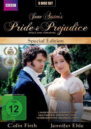 Pride & Prejudice - Stolz und Vorurteil (1995) (BBC, Special Edition, 6 DVDs)
