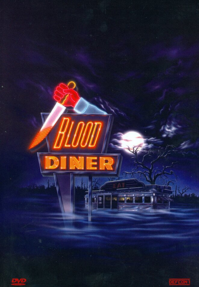 Blood Diner (1987) (Kleine Hartbox, Cover B, Limited Edition, Uncut)
