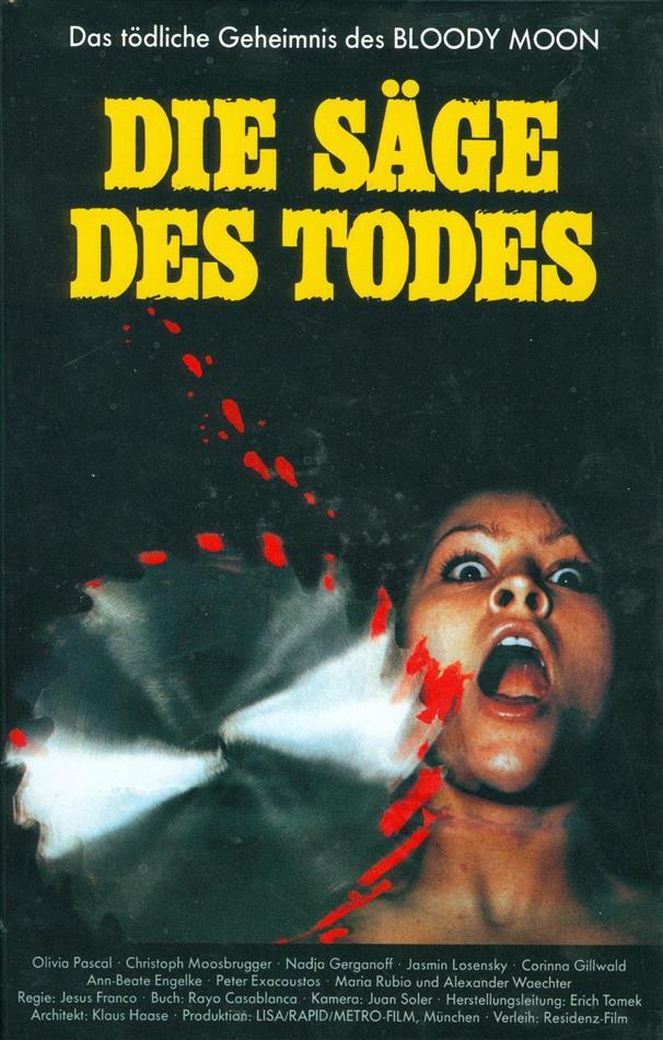 Die Säge des Todes (1981) (Grosse Hartbox, Cover A, Limited Edition, Uncut)