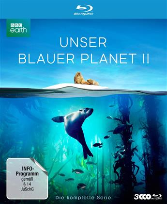 Unser blauer Planet 2 - Die komplette Serie (2017) (BBC Earth, Schuber, Digipack, Uncut, 3 Blu-ray)