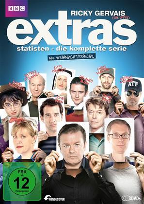Extras - Statisten - Die komplette Serie inkl. Weihnachtsspecial (3 DVDs)