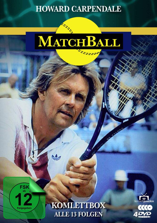 Matchball - Komplettbox (Fernsehjuwelen, 4 DVDs)