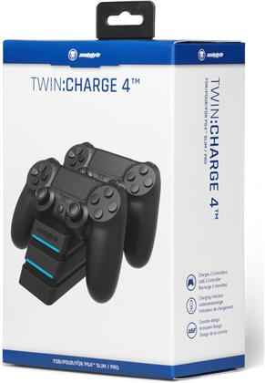 snakebyte PS4 Twin Charger 4 - black