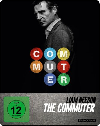 The Commuter (2018) (Limited Edition, Steelbook)