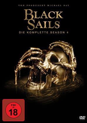 Black Sails - Staffel 4 (4 DVDs)