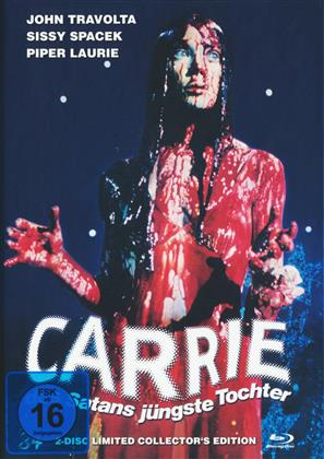 Carrie - Des Satans jüngste Tochter (1976) (Cover B, Collector's Edition, Limited Edition, Mediabook, Uncut, Blu-ray + DVD)