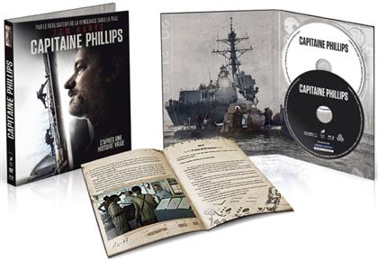 Capitaine Phillips (2013) (Edizione Limitata, Mediabook, Uncut, Blu-ray + DVD)
