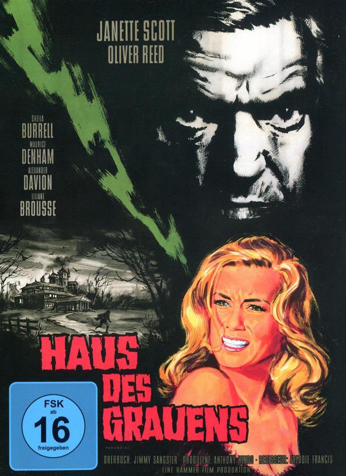 Haus des Grauens (1963) (Cover A, s/w, Limited Edition, Mediabook, Uncut)