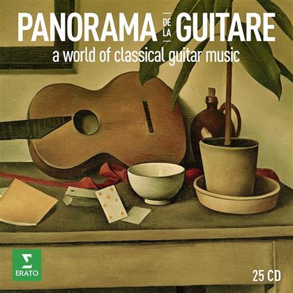 Panorama De La Guitare (Limited Edition, Remastered, 25 CDs)