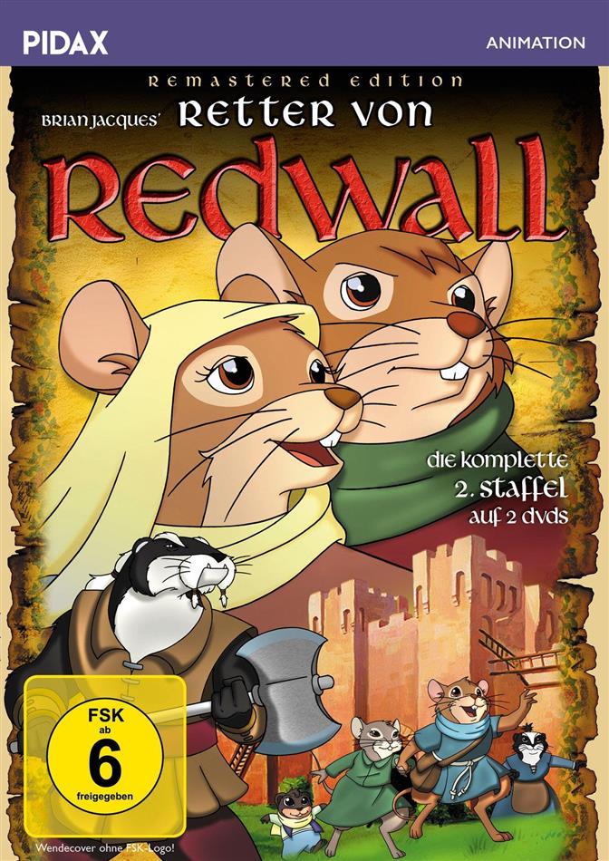 Retter von Redwall - Staffel 2 (Pidax Animation, Remastered, 2 DVDs)