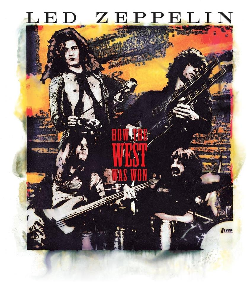Led Zeppelin - How The West Was Won - Live (Super Deluxe Box Set, Remastered, 4 LPs + 3 CDs + DVD)