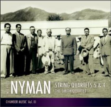 The Smith Quartet & Michael Nyman (*1944 -) - String Quartets No. 5 & 4