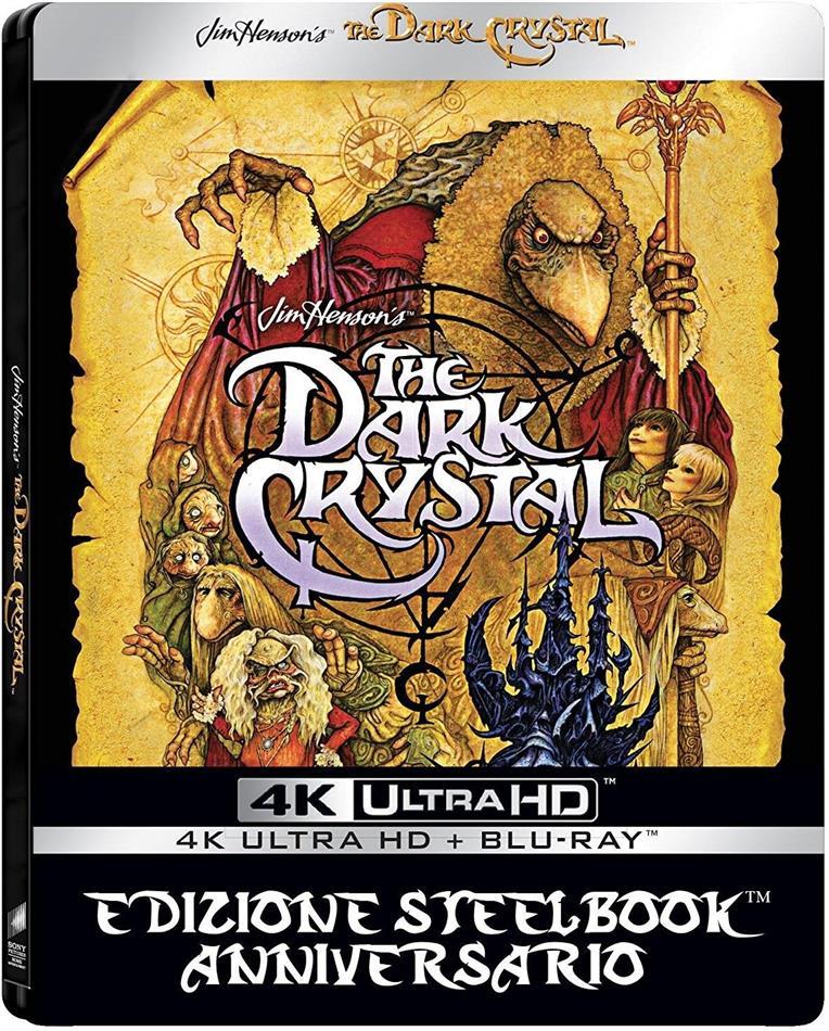The Dark Crystal (1982) (Anniversary Edition, Limited Edition, Steelbook, 4K Ultra HD + Blu-ray)