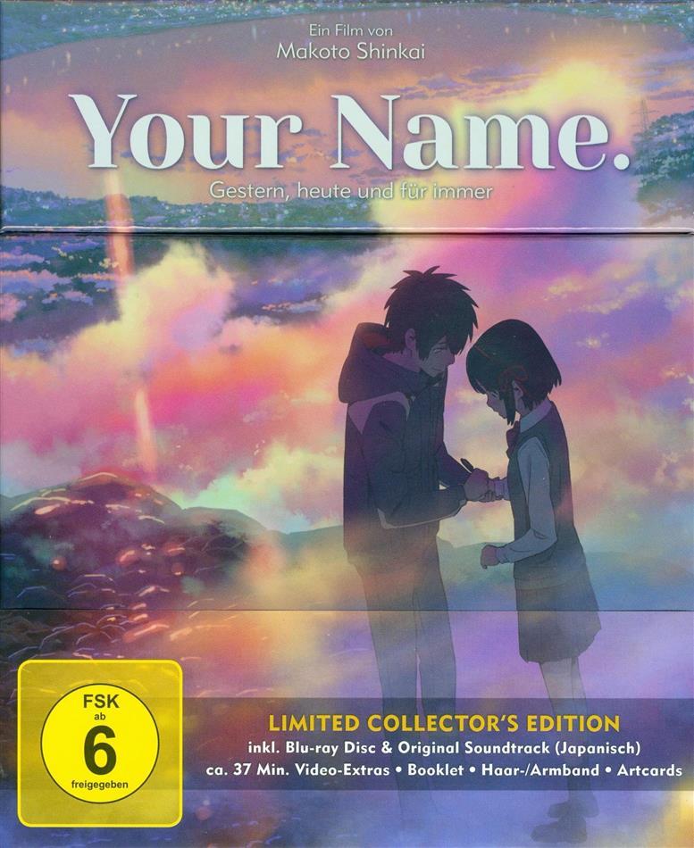 Your Name. - Gestern, heute und für immer (2016) (Collector's Edition, Edizione Limitata, Blu-ray + CD)