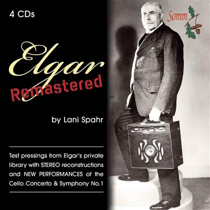 Sir Edward Elgar (1857-1934) - Elgar Remastered - Elgar's Recordings Remastered By Lani Spahr (4 CDs)