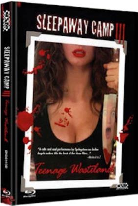 Sleepaway Camp 3 - Teenage Wasteland (1989) (Cover D, Collector's Edition, Limited Edition, Mediabook, Blu-ray + DVD)