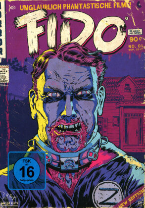 Fido (2006) (UPFC - Unglaublich Phantastische Filme Collection, Comic Cover, Limited Edition, Mediabook, Blu-ray + DVD)