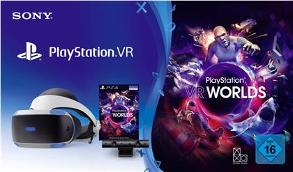 Playstation 4 VR Bundle V2 (CUH-ZVR2) - Headset + Camera + VR Worlds