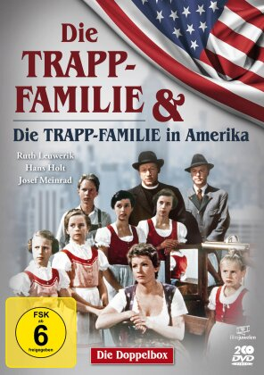 Die Trapp-Familie / Die Trapp-Familie in Amerika (Double Feature, 2 DVD)