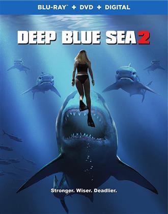 Deep Blue Sea 2 (2018) (Blu-ray + DVD)