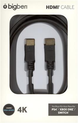 HDMI 2.0a Cable 2m - black