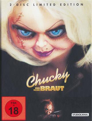 Chucky und seine Braut (1998) (Limited Edition, Mediabook, Uncut, Blu-ray + DVD)
