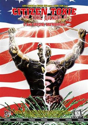 Citizen Toxie - The Toxic Avenger 4 (2000) (Kleine Hartbox, Cover A, Limited Edition, Special Edition, Uncut, 3 DVDs)