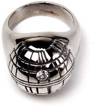 Star Wars - Death Star 3D Ring - Grösse S