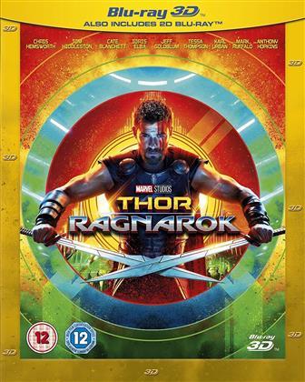 Thor 3 - Ragnarok (2017) (Blu-ray 3D + Blu-ray)
