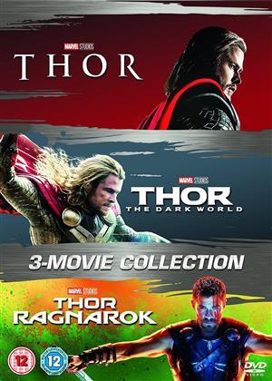 Thor (2011) / Thor 2- The Dark World (2013) / Thor 3 - Ranarok (2017 (3 DVD)