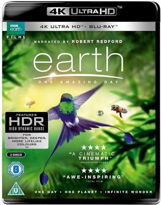 Earth - One Amazing Day (2017) (BBC Earth, 4K Ultra HD + Blu-ray)