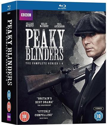 Peaky Blinders - Seasons 1-4 (BBC, 8 Blu-rays)