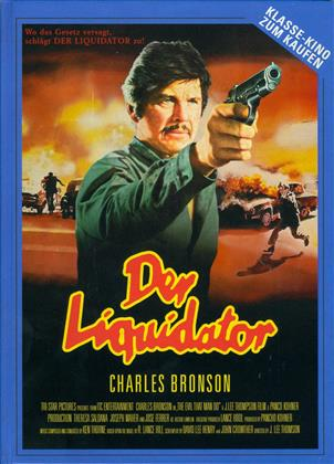Der Liquidator (1984) (Cover D, Limited Edition, Mediabook, Uncut, Blu-ray + DVD)