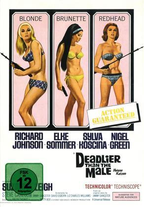 Deadlier Than the Male - Heisse Katzen (1967) (Cover B, Limited Edition, Mediabook, Uncut)