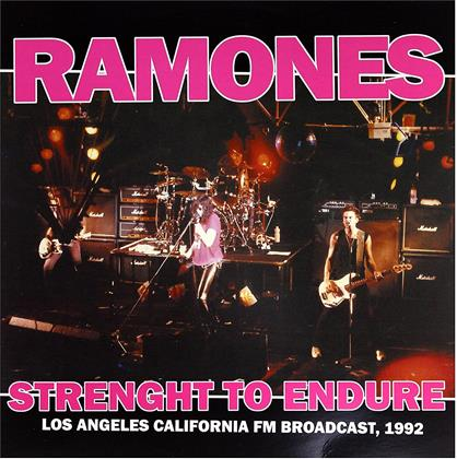 Ramones - Strength To Endure - Los Angeles California FM Broadcast 1992 (LP)
