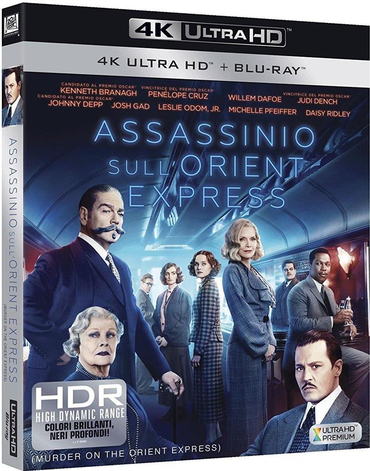 Assassinio sull'Orient Express (2017) (4K Ultra HD + Blu-ray)