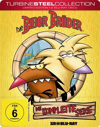 Die Biber Brüder - Die komplette Serie (Turbine Steel Collection, Limited Edition, 2 Blu-rays)