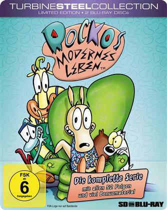 Rockos modernes Leben - Die komplette Serie (Turbine Steel Collection, Limited Edition, 2 Blu-rays)