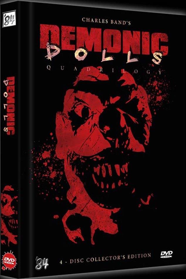 Demonic Dolls 1-4 - Quadrilogy (Black Edition, Limited Edition, Mediabook, Uncut, 4 DVDs)