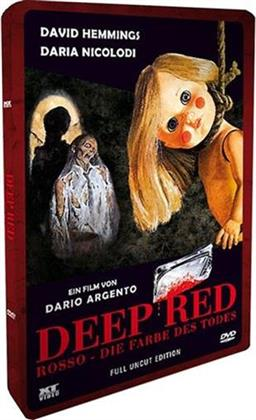 Deep Red - Rosso - Die Farbe des Todes (1975) (Lenticular, Steelbook, Uncut)