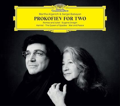 Serge Prokofieff (1891-1953), Martha Argerich & Sergei Babayan - Prokofiev For Two