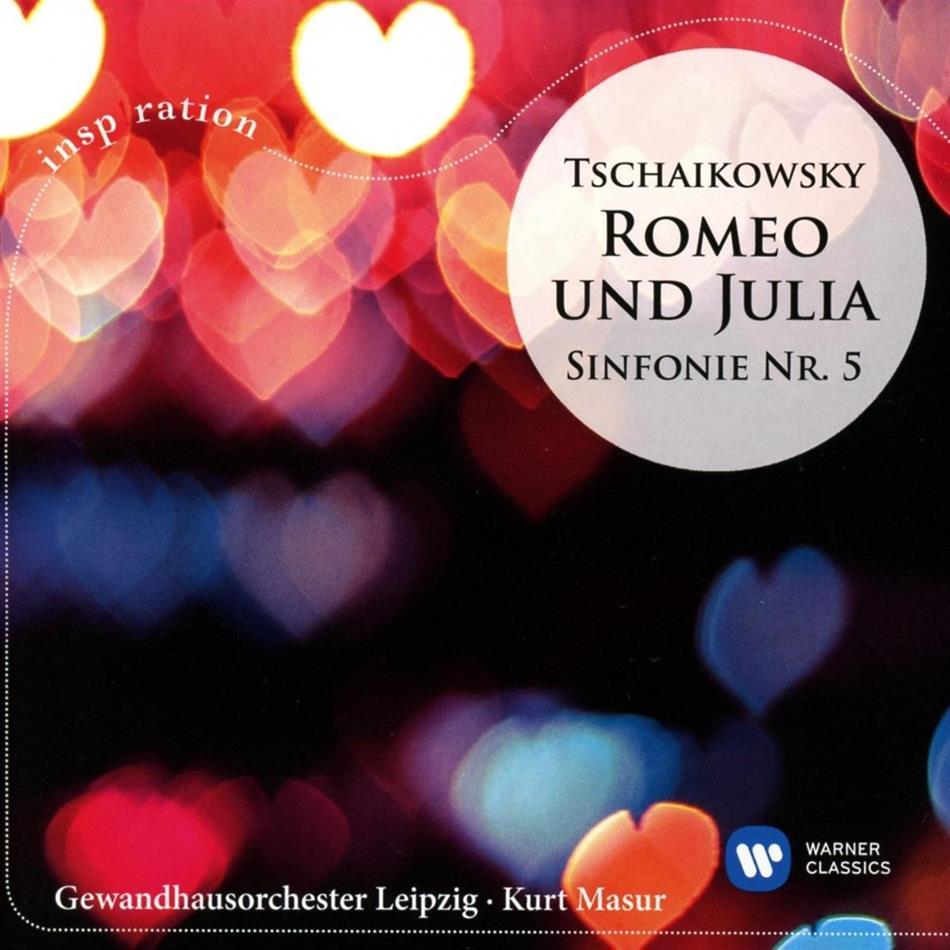 Peter Iljitsch Tschaikowsky (1840-1893), Kurt Masur & Gewandhausorchester Leipzig - Romeo und Julia / Sinfonie Nr.5
