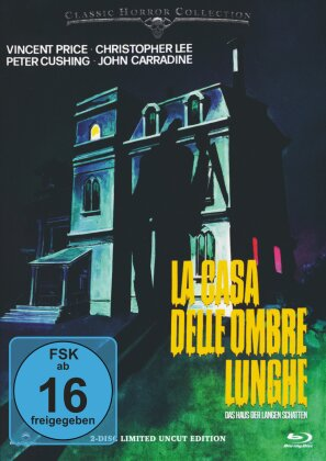 La casa delle ombre lunghe - Das Haus der langen Schatten (1983) (Classic Horror Collection, Limited Edition, Mediabook, Neuauflage, Uncut, Blu-ray + DVD)