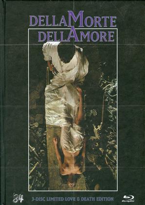 DellaMorte DellAmore (1994) (Love & Death Edition, Cover A, Edizione Limitata, Mediabook, Uncut, Blu-ray 3D + Blu-ray + DVD)