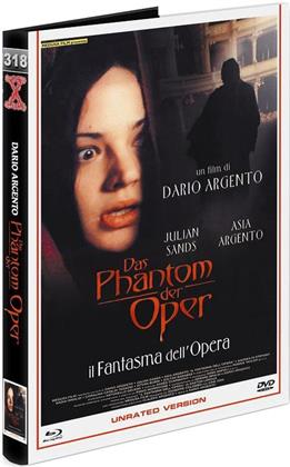 Das Phantom der Oper - Il fantasma dell'opera (1998) (Grosse Hartbox, Cover A, Eurocult Collection, Limited Edition, Uncut, Unrated, Blu-ray + DVD)